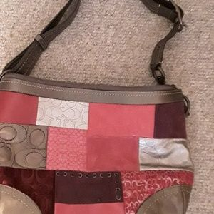 Coach Bags - Coach patchwork multicolored hobo bag. Authentic
